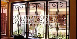 Ferforje pencere